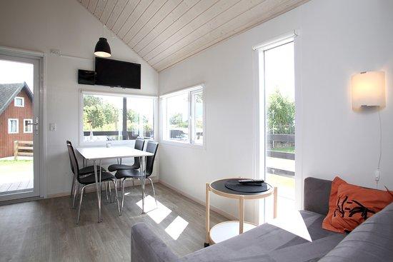 Hedebo Strand Camping Nordjylland: Interiør luksushytte