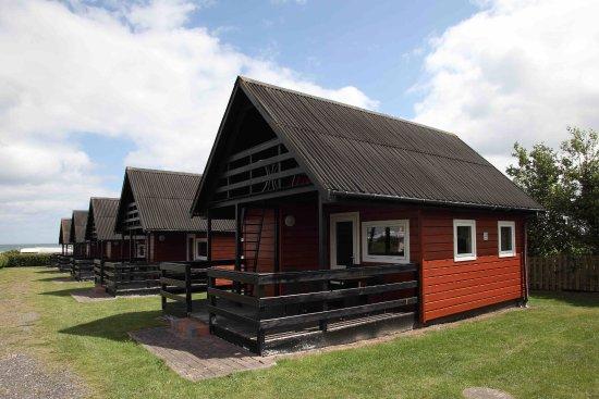 Hedebo Strand Camping Nordjylland: Luksushytter med hems og terrasser med udsigt