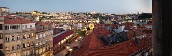 Hotel da Bolsa: View from my room one evening!