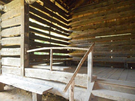 Jasper, IN: Schaeffer Barn interior
