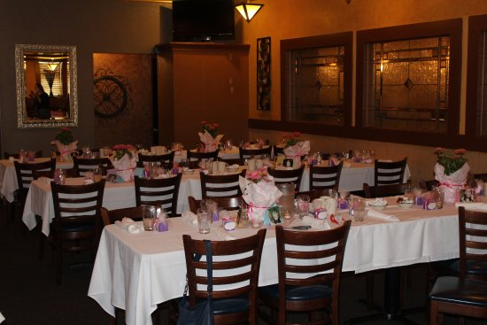 Warren, ميتشجان: Private dining room for baby shower