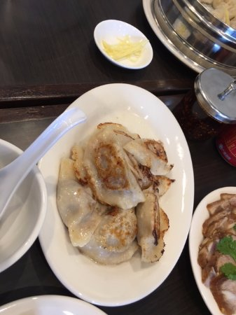 Mukden Dumplings Pan Fried Beef Dumplints