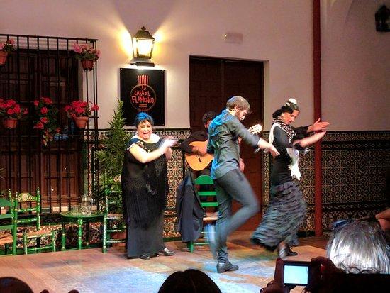 La Casa del Flamenco Auditorio Alcantara: Flamenco dancers