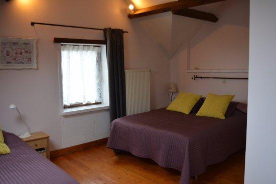 Richebourg, France : chambre familiale