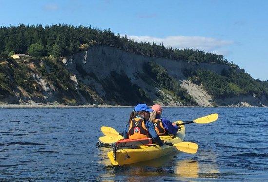 Port Townsend, WA: Paddling a kayak double