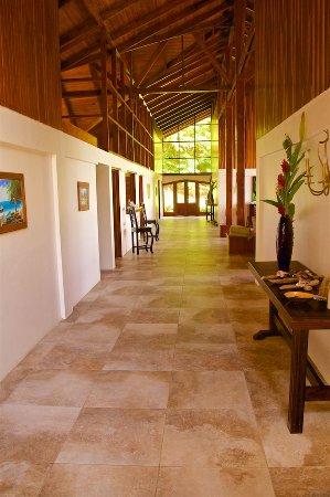 Pavones, Κόστα Ρίκα: hallway view from front door