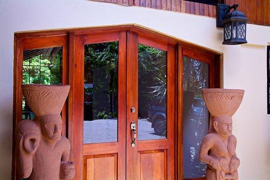 Pavones, Costa Rica: front door