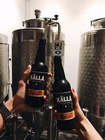 Kalla Beer Factory: Cervezas artesanas Källa