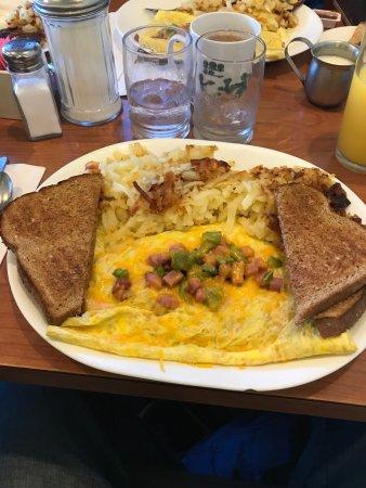 The Dalles, Oregón: Denver omlet