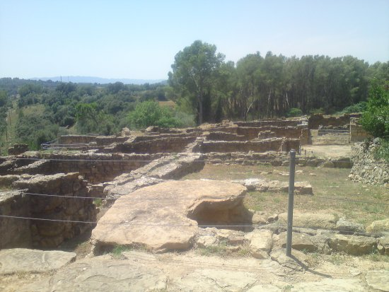Ullastret, Spain: Remains.
