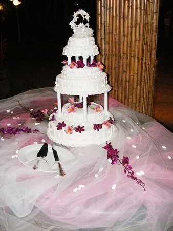 Homemade Wedding Cake.Homemade Wedding Cake Picture Of Cormier Plage Resort Cap Haitien