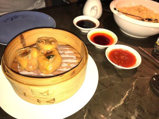 Hakkasan: Dim sum de pato e lagosta