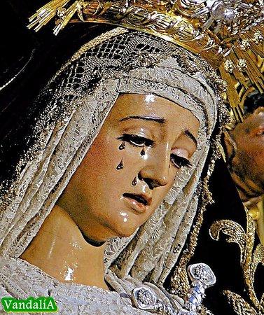 Resultado de imagen de Virgen del dolor