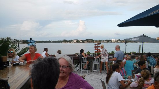 Redington Shores, FL: The sensational view from my seat