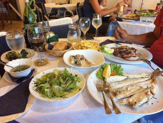 Jadranovo, Hırvatistan: Restoran Klostar