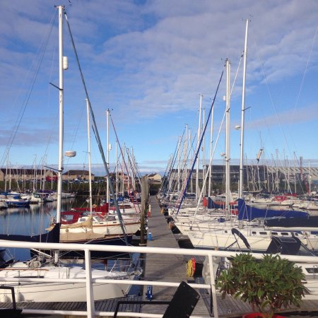 Troon, UK: View from M.V. Reliant
