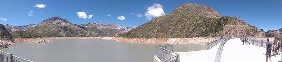 Finhaut, Suisse : vue du barrage