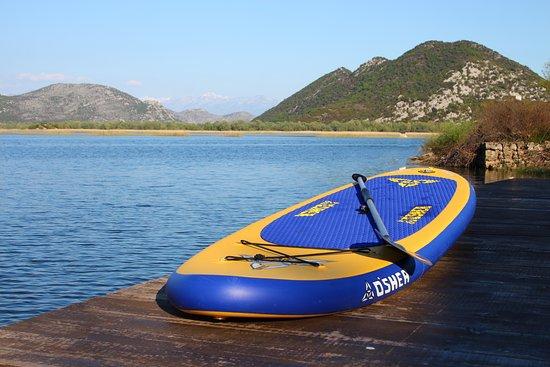 Denovici, Monténégro : explore Skadar Lake on SUP