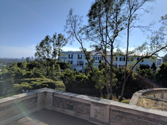 Beverly Hills, CA: View from Greystone