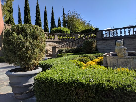 Beverly Hills, CA: One of the gardens