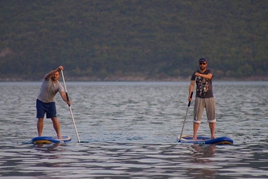 Denovici, Monténégro : learn to paddle with our instructors
