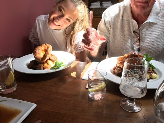 The Station Hotel: Sunday lunch after race for life!