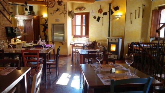 Deruta, Italy: Sala soppalco