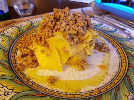 Deruta, Italy: Pappardelle ragu