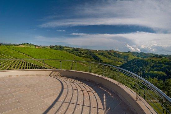 Il Boscareto Resort & SPA: Terrazza camere