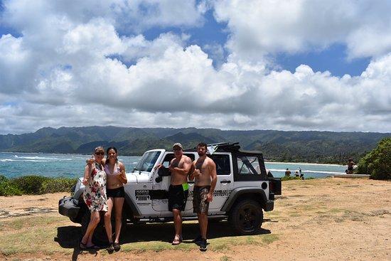 夏威夷吉普之旅
