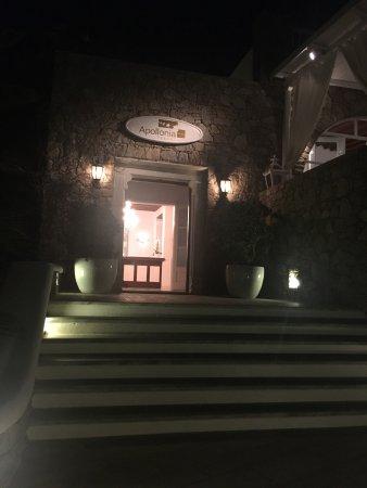 Apollonia Hotel & Resort: Vista camera Vista ristorante Camere Reception
