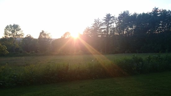 Bethlehem, NH: sunset