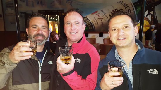 Midleton, Irlanda: Whiskey Tasting at End of Tour