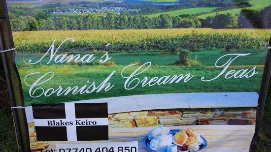 St Minver, UK: Nana's Cream Teas