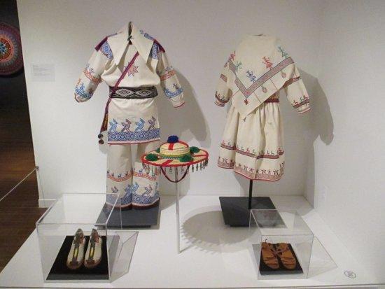 Textile Museum of Canada : Huichol clothing