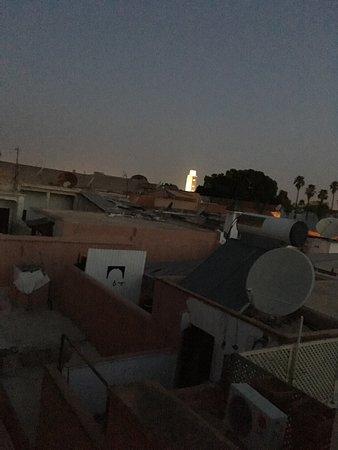 Riad Eden: Lever du jour sur le toit du Riad