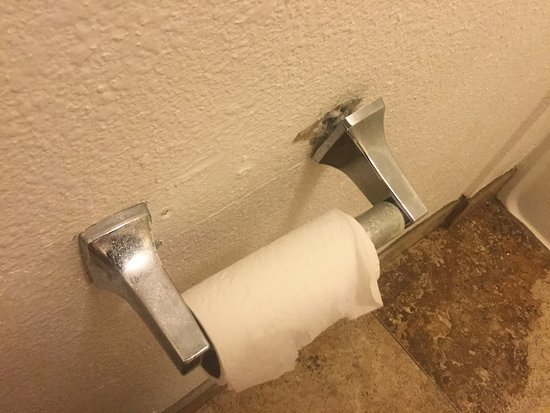 Blue Jay Lodge: busted and no spare TP