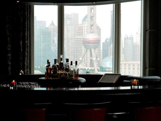 The Peninsula Shanghai: View from a bar