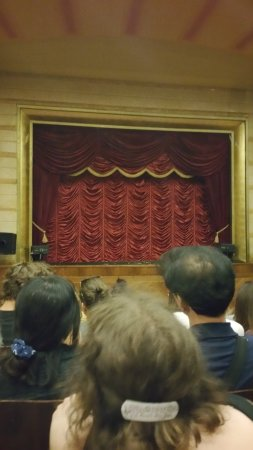 National Marionette Theatre: The stage!