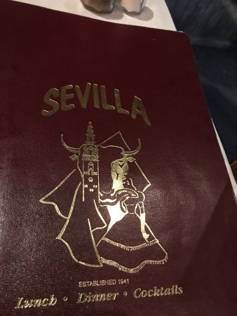 Sevilla Restaurant & Bar: The seafood is delectable, large portions , so split your meal and have the desert. This Authent