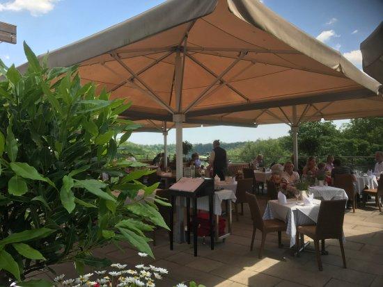 Pullach im Isartal, Allemagne : Die Terrasse