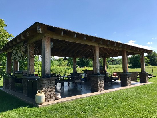 East Springfield, Estado de Nueva York: Outdoor Pavilion!
