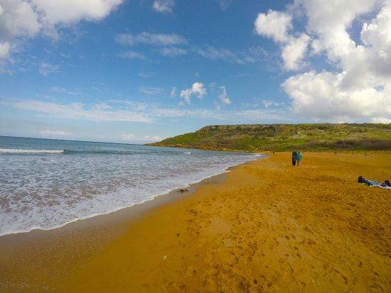 Xaghra, Malta: Spiaggia di Ramla Bay