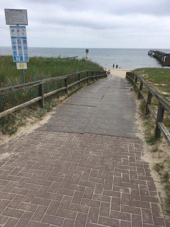 Koserow, ألمانيا: Seebrueke Koserow an der Ostsee