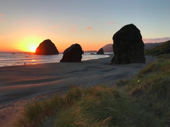 Pacific Reef Hotel: Beach Just South of Gold Beach