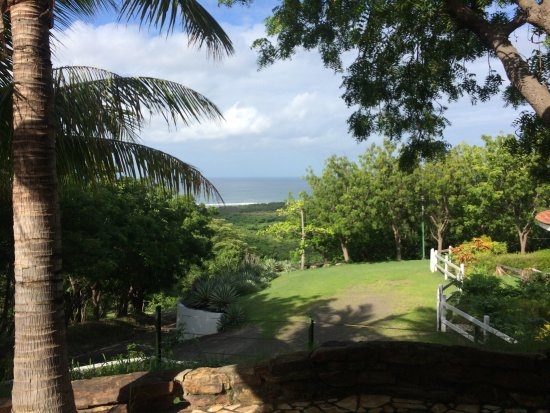 Las Salinas, Nicaragua: the view out our villa