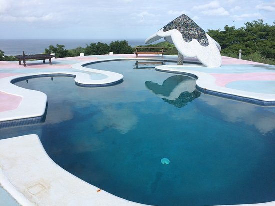Las Salinas, Nicaragua: lovely pool at the top of the resort hill