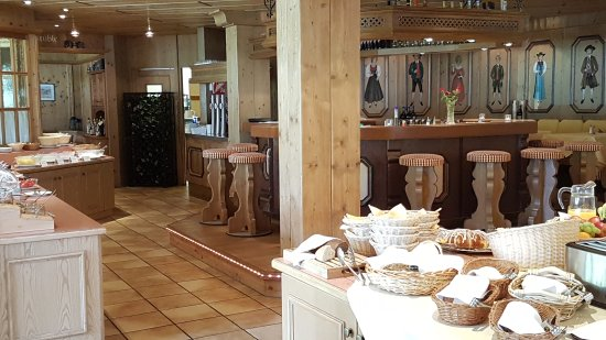 Suitehotel Kleinwalsertal: Frühstücksraum