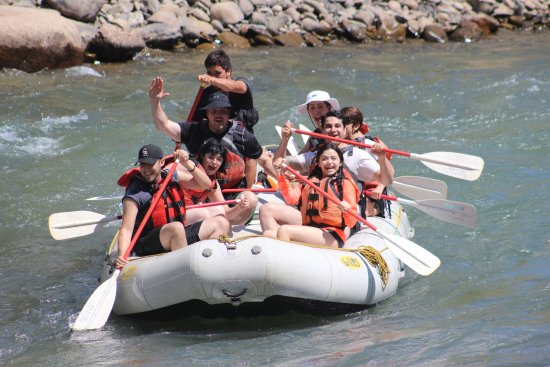 Mild to Wild Rafting and Jeep Trail Tours : Blast on 1/2 day raft trip, highly recomend