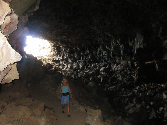 Tulelake, Californien: På opdagelse i lava huler